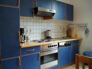 Küchenzeile der Ferienwohnung